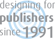 Design for publishers logo